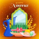 طرح دیزاین هفت سین عید نوروز با فرمت وکتور