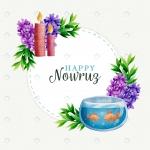 وکتور طرح تبریک عید نوروز
