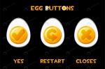 مجموعه تخم مرغ با علائم مختلف