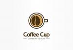وکتور لوگوی فنجان قهوه با فوم