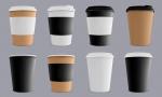 انواع طرح های لیوان کاغذی قهوه