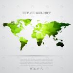 نقشه جهان با تم پالی گانی